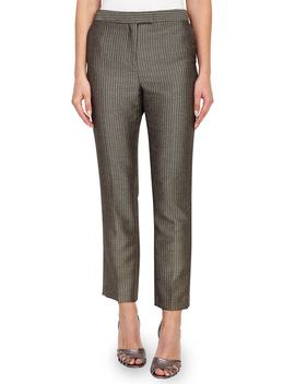 Zen Foulard Taper Trousers by Reiss
