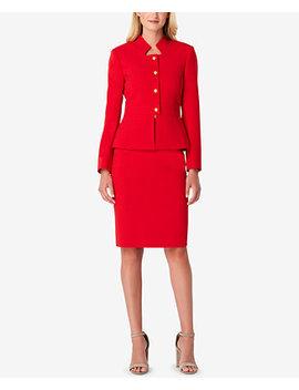 Petite Peplum Skirt Suit by Tahari Asl
