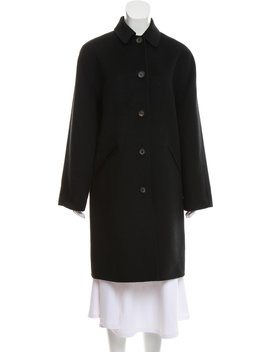 Cashmere Knee Length Coat by Barney's New York