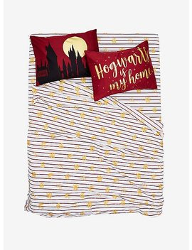 Harry Potter Hogwarts Is My Home Pillowcase Set by Hot Topic