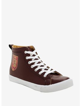 Harry Potter Gryffindor Hi Top Sneakers by Hot Topic