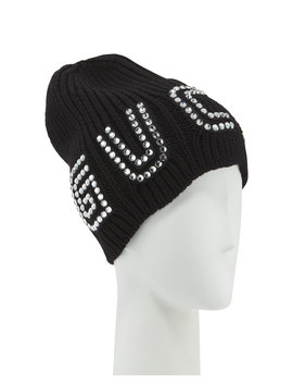 Game Guccy Rib Knit Wool Beanie Hat by Gucci