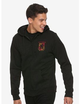 Harry Potter Gryffindor Quidditch Crest Hoodie by Hot Topic