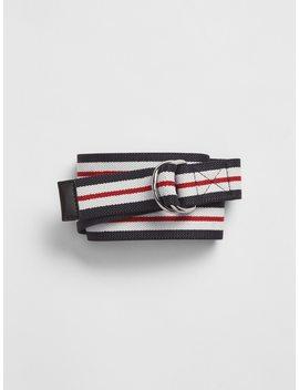 Stripe Webbing Belt by Gap