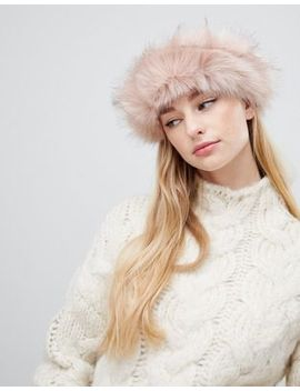 Aldo Grilaclya Faux Fur Headband by Aldo