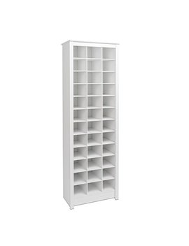 Prepac Wusr 0009 1 Shoe Storage Cabinet, 36 Pair Rack, White by Prepac