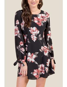 Patricia Floral Shift Dress by Francesca's