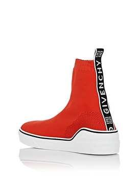 George V Knit Sneakers by Givenchy