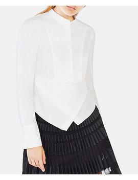 Cotton Kathryn Wrap Shirt by Bcbgmaxazria