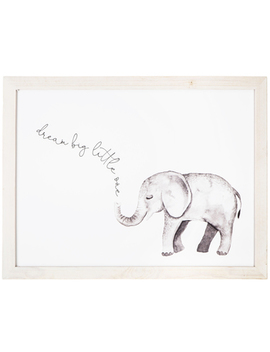 Dream Big Elephant Wood Wall Decor by Hobby Lobby