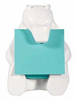 """3 M Bear 330 Post It Pop Up Notes Dispenser, 3"""" X 3"""", White by Amazon"""