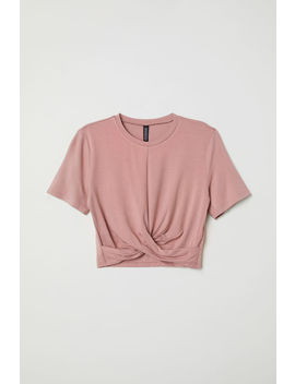 Top De Punto Con Nudo by H&M