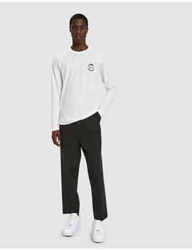 L/S Need Supplies Tee In White by Need