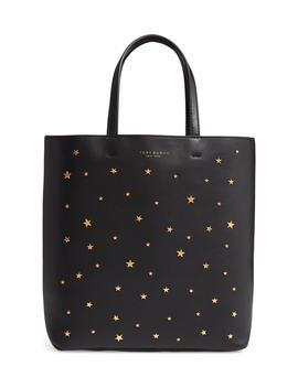 Small Star Studded Leather Tote by Tory Burch