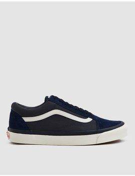 Wtaps Og Old Skool Lx Sneaker In Dress Blues by Vault By Vans