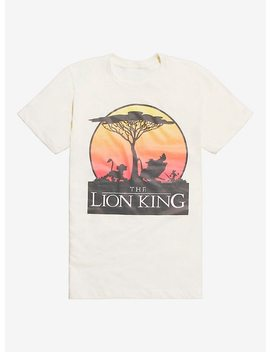 Disney The Lion King Sunset Logo T Shirt by Hot Topic
