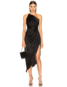 For Fwrd Twist Knot Midi Dress by Michelle Mason