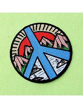 From Day To Night Explore Outdoor Patch Embroidered Badge Iron On Sew On Emblem by Amazon