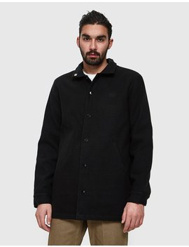 Wally Jacket In Black by Obey