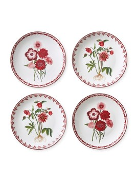 Aerin Holiday Salad Plates Mixed, Set Of 4 by Williams   Sonoma