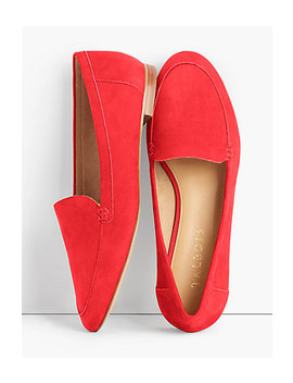 Ryan Loafers   Nubuck Leather by Talbots