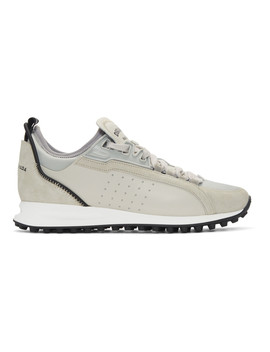Grey 2 Run Sneakers by Dsquared2