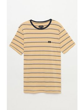Barney Cools B. Thankful Stripe T Shirt by Pacsun
