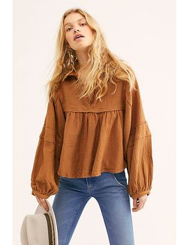 We The Free Silver Lining Shirt by Free People