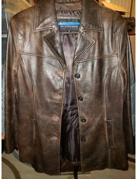 Wilsons Brown Leather Jacket Mens Size Medium by Wilsons Leather