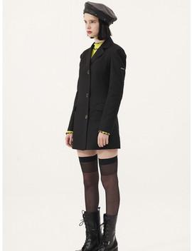 Jacket Dress Black by Odd One Out