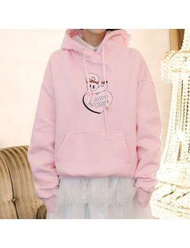 "Chuu   ""Esther Loves Chuu"" Bunny & Heart Hoodie by Chuu"