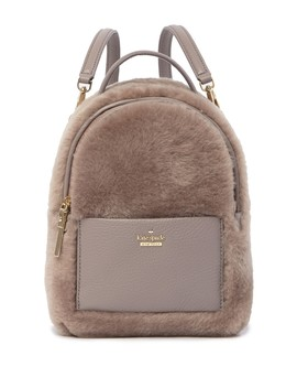 Merry Genuine Shearling & Leather Backpack by Kate Spade New York