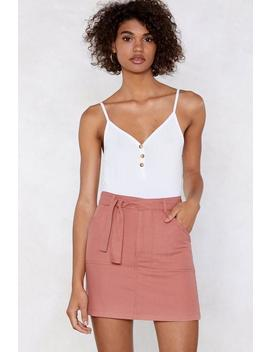 Catch A Falling Star Mini Skirt by Nasty Gal