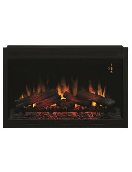 36 In. Traditional Built In Electric Fireplace Insert by Classic Flame