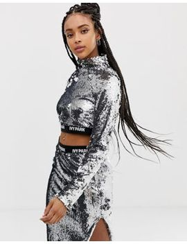 Ivy Park Sequin Crop Top by Ivy Park