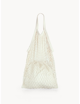 Net String Bag   White by Pomelo