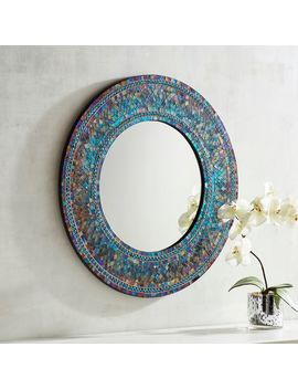 "Midnight 24"" Round Mirror by Pier1 Imports"