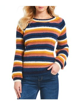 Multi Stripe Sweater by Blu Pepper