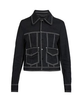 Topstitched Denim Jacket by Maison Margiela