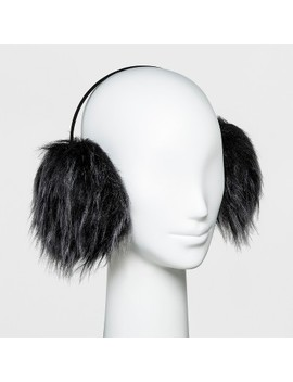 Women's Faux Fur Earmuff   Wild Fable™ Black by Wild Fable