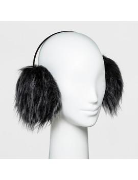 Women's Faux Fur Earmuff   Wild Fable™ Black by Wild Fable