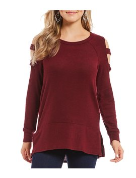 Ladder Sleeve Tunic Top by Moa Moa