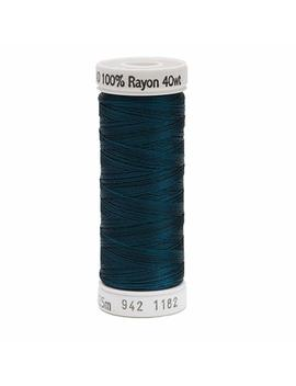 Sulky Rayon Thread For Sewing, 250 Yard, Deep Teal by Sulky