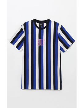Huf Marka Stripe T Shirt by Pacsun