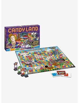 Willy Wonka &Amp; The Chocolate Factory Edition Candy Land Board Game by Hot Topic