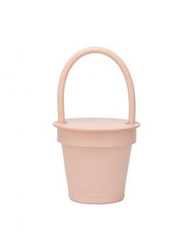 Pot Bag Pale Rose by Latelee Studio