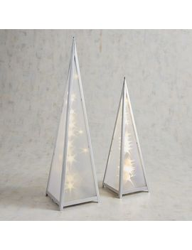 Led Light Up Star Pyramid Lantern by Pier1 Imports