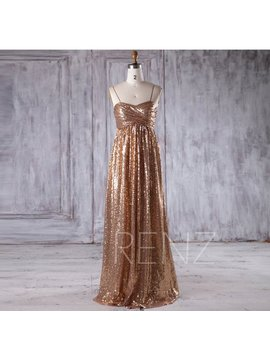 Bridesmaid Dress Gold Sequin Dress,Wedding Dress,Spaghetti Strap Party Dress,Ruched Sweetheart Evening Dress,Luxury A Line Maxi Dress(Lq249) by Etsy