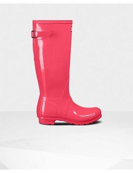 "<Span Itemprop=""Name"">Women's Original Adjustable Gloss Rain Boots</Span>:                     <Span>Flare</Span> by Hunter"