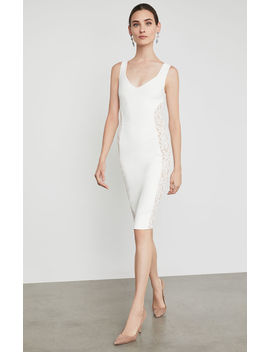 Lace Inset Bodycon Dress by Bcbgmaxazria